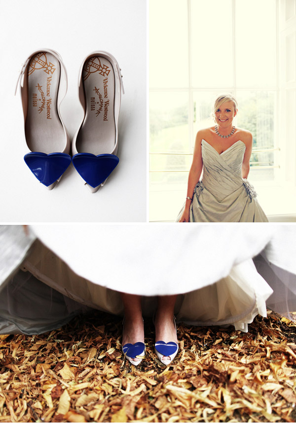pale blue wedding shoes photo - 1