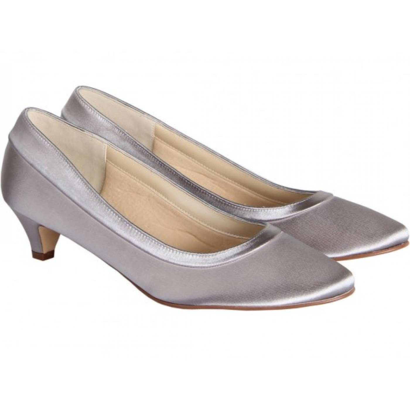 pale pink wedding shoes photo - 1