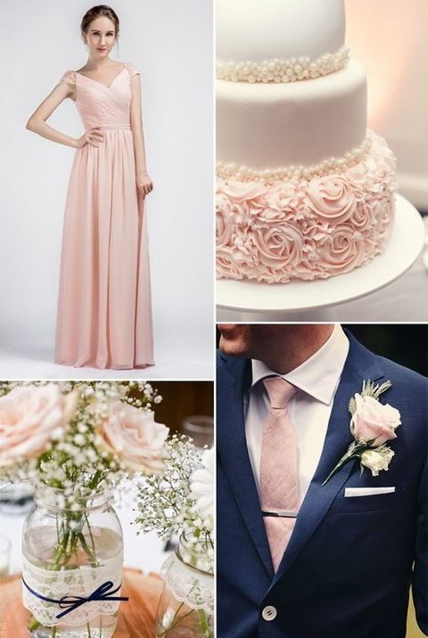peach shoes for wedding photo - 1