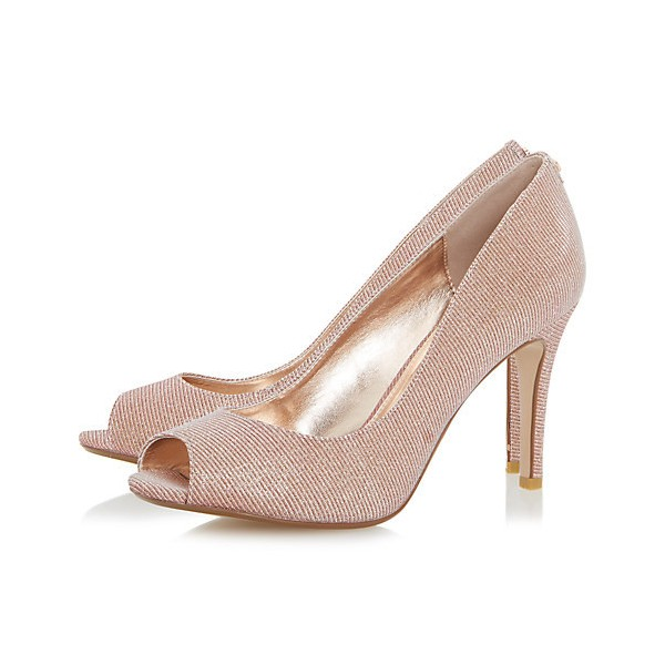 peach wedding shoes photo - 1