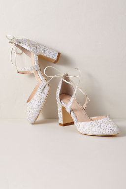 pearl shoes wedding photo - 1