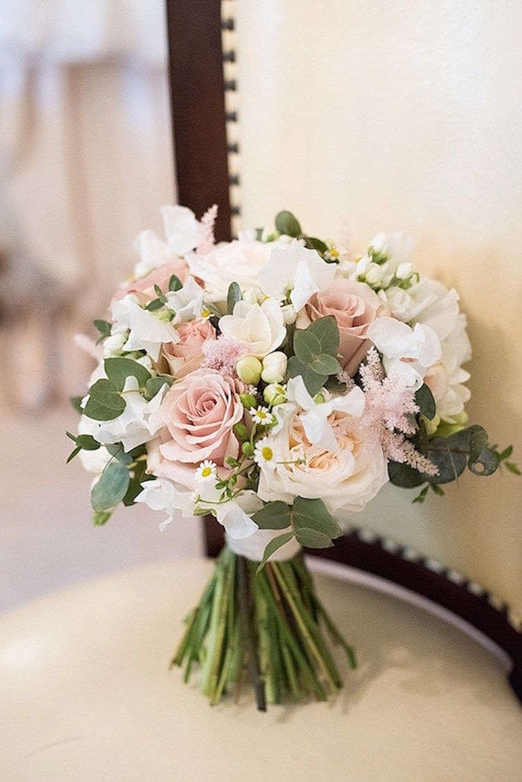 pink flowers wedding bouquets photo - 1