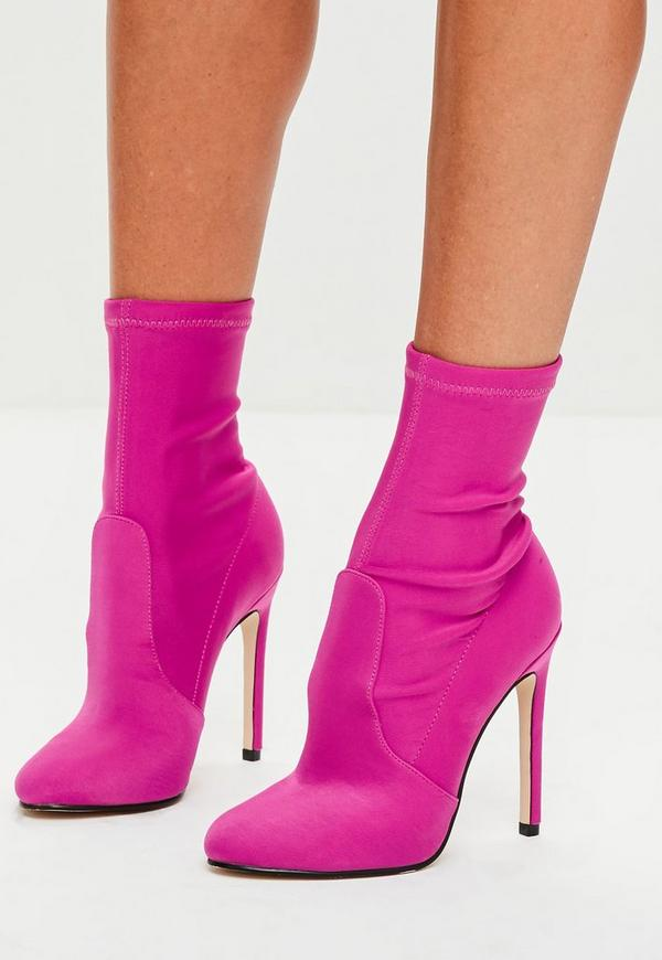 pink satin shoes wedding photo - 1