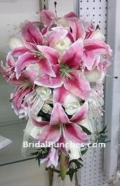 Pink Tiger Lily Wedding Bouquets Florida Photo Magazine Com