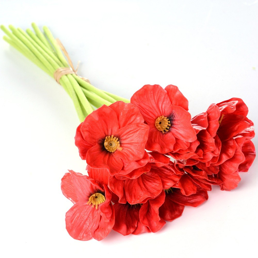 poppy wedding bouquets photo - 1