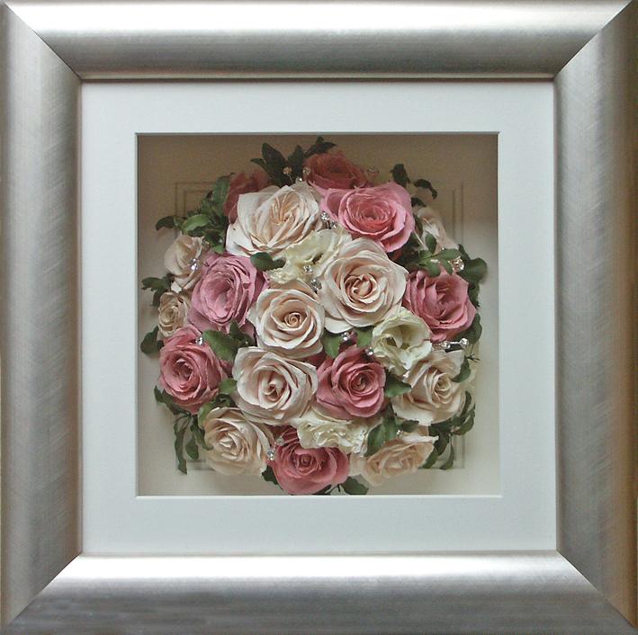pressing wedding bouquets photo - 1