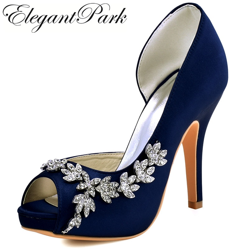 purple bridal shoes low heel photo - 1