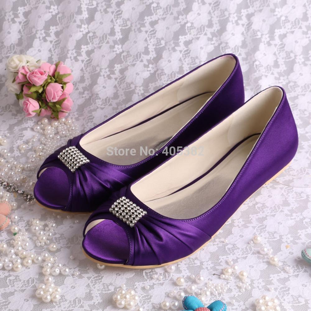 75715f8f9b Purple flat shoes for wedding - Florida-Photo-Magazine.com