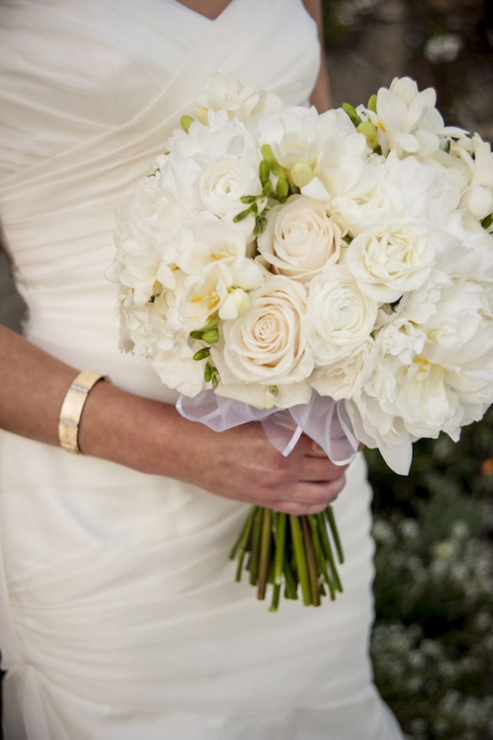 real simple wedding bouquets photo - 1