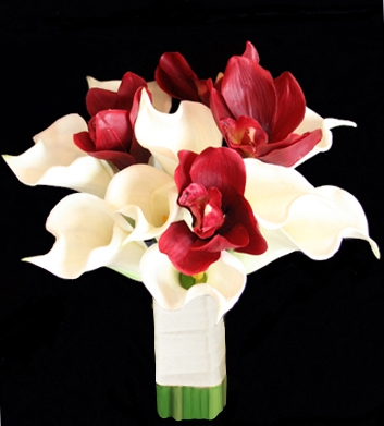 red calla lilies wedding bouquets photo - 1