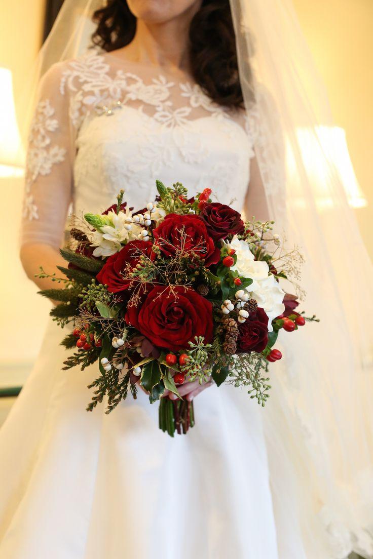 Red Wedding Bouquets Ideas Florida Photo Magazine Com