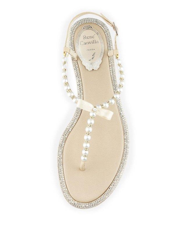 rene caovilla wedding shoes photo - 1