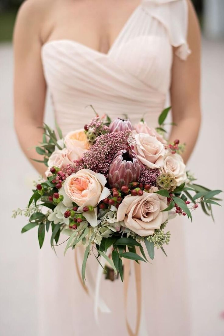 rose wedding bouquets ideas photo - 1