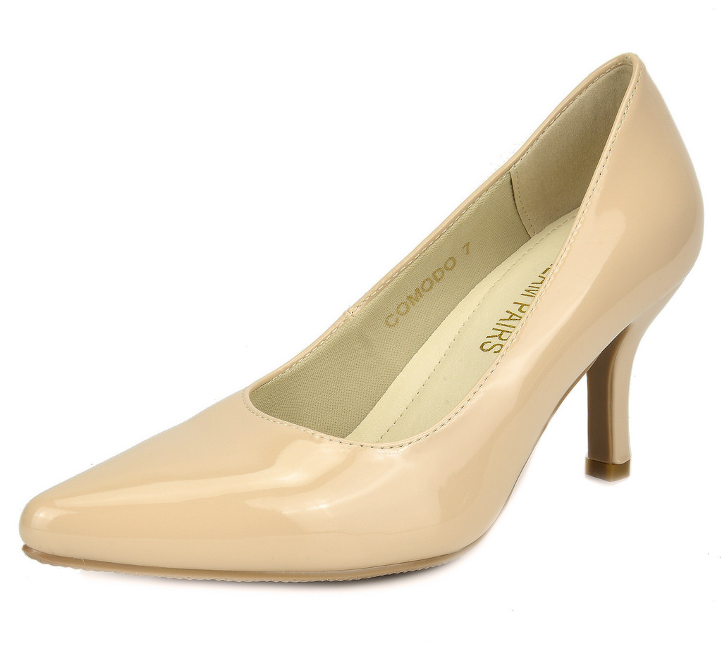 round toe wedding shoes photo - 1