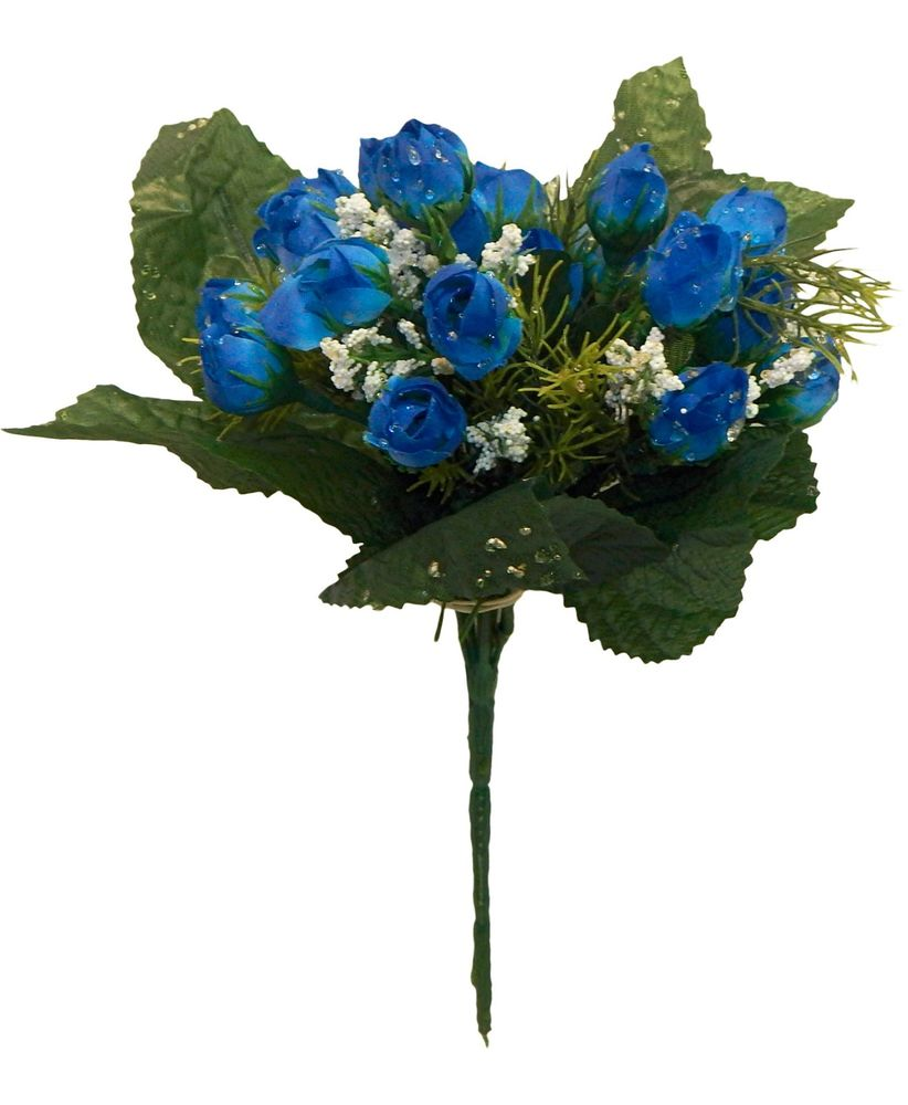 royal blue wedding flowers photo - 1