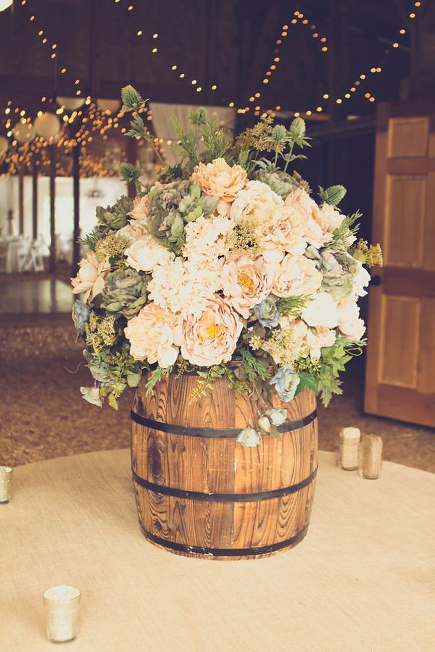 rustic wedding bouquets ideas photo - 1