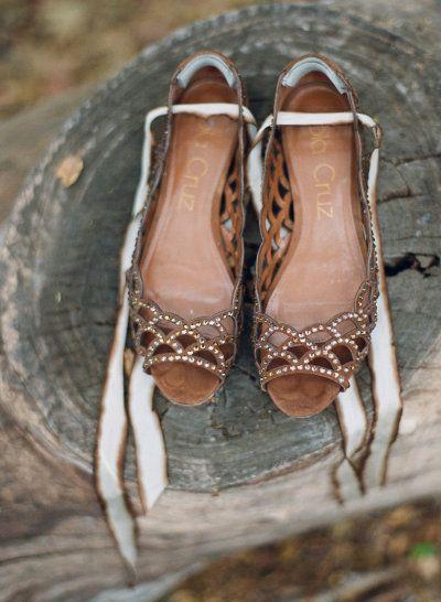 rustic wedding shoes photo - 1