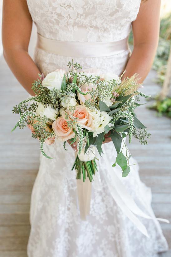 shabby chic wedding bouquets photo - 1