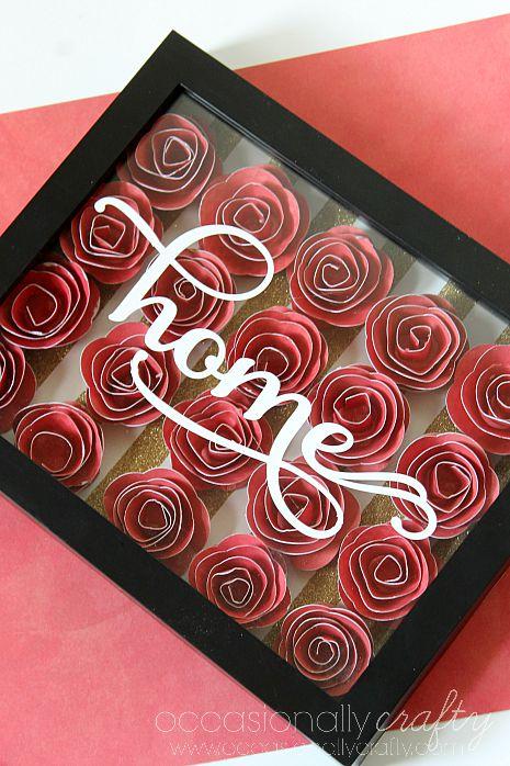 shadow box for wedding flowers photo - 1