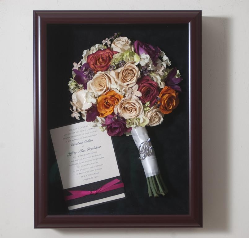 shadow boxes for wedding bouquets photo - 1