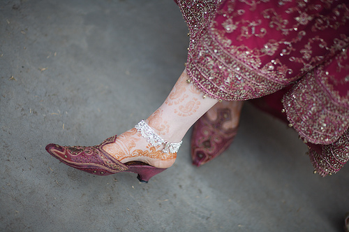 shoes wedding dress photo - 1