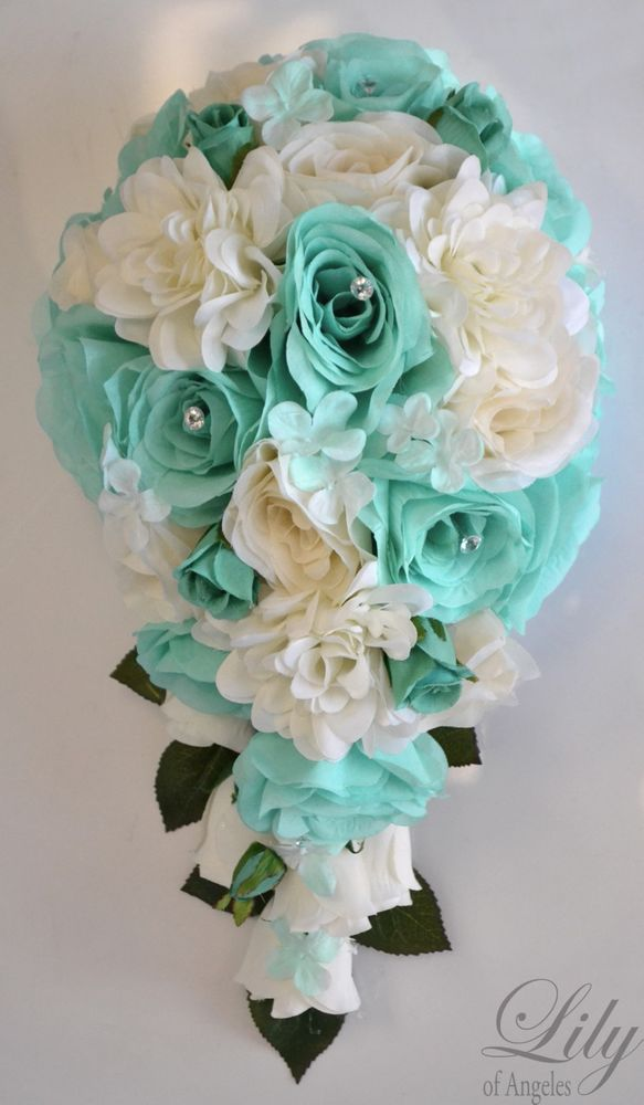 silk flowers for wedding bouquets photo - 1