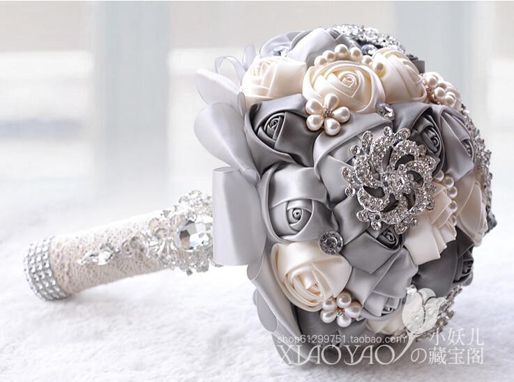 silk wedding bouquets for sale photo - 1