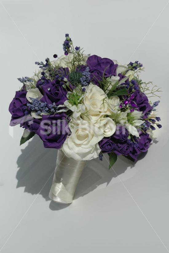 silk wedding bouquets online photo - 1