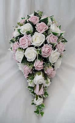 silk wedding flower packages photo - 1