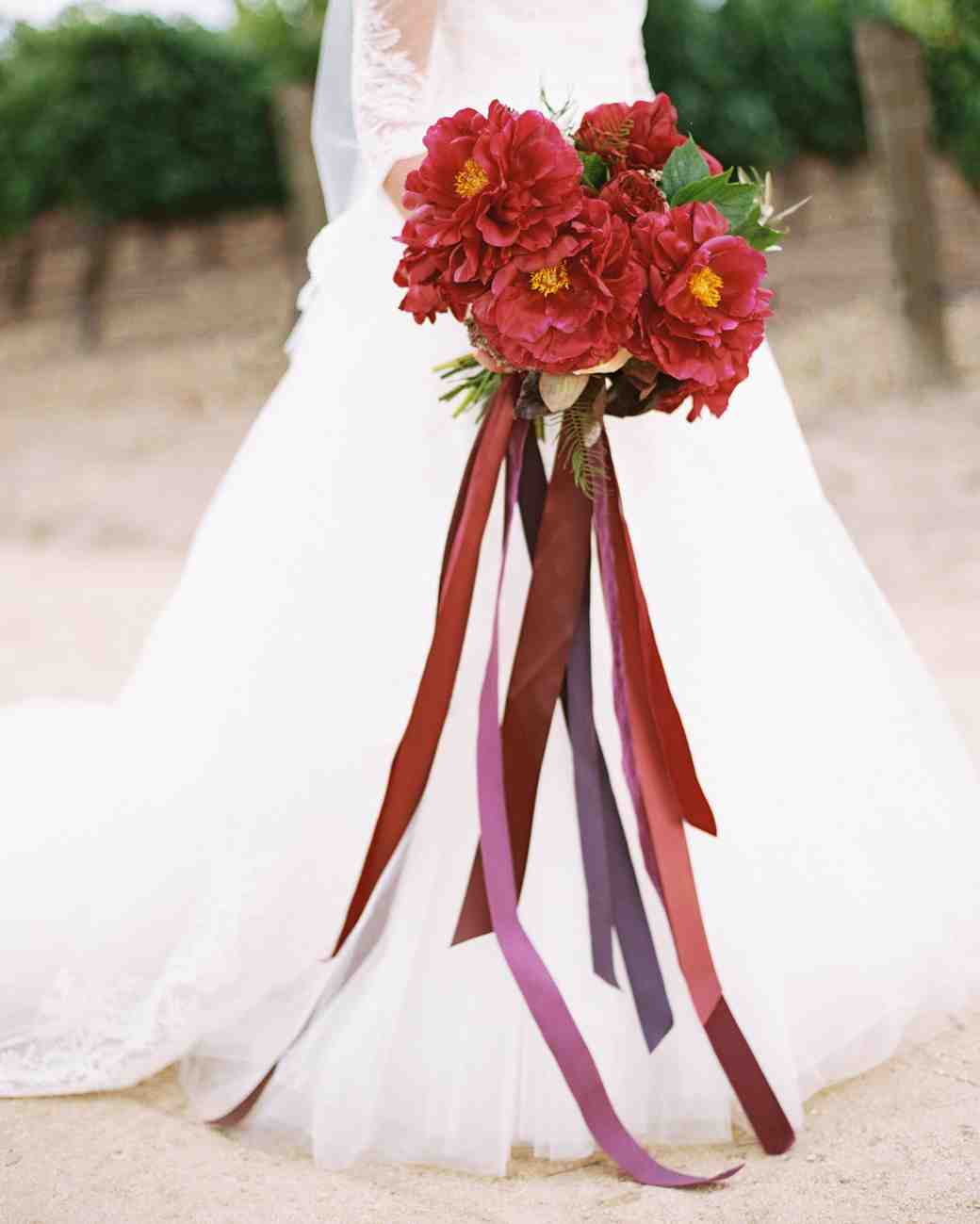 single flower wedding bouquets photo - 1