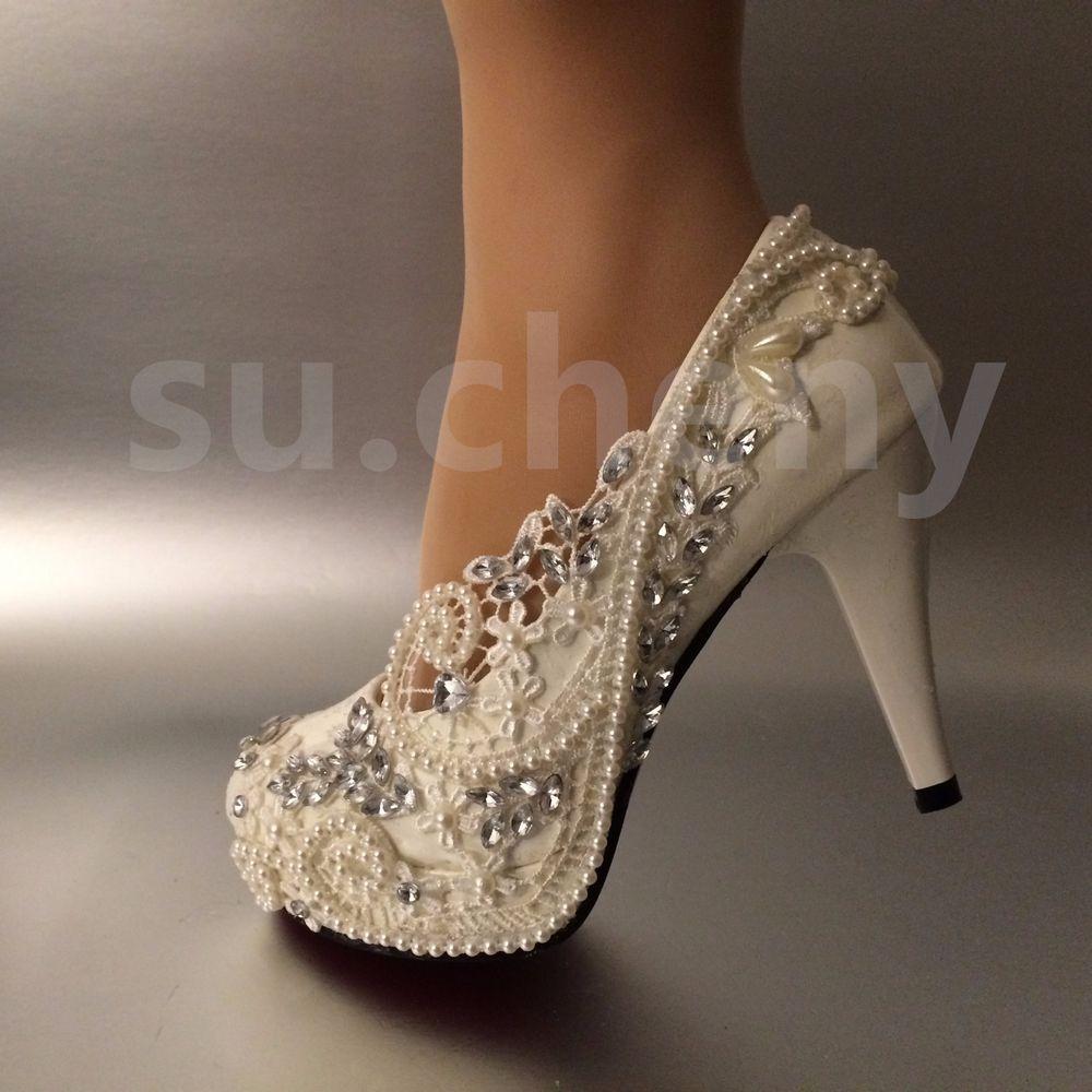 size 5 wedding shoes photo - 1