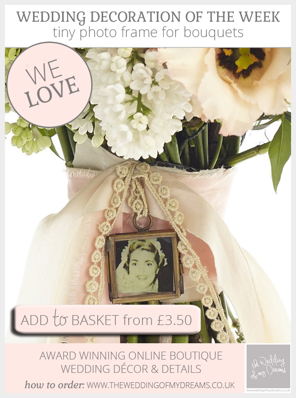 small picture frames for wedding bouquets photo - 1