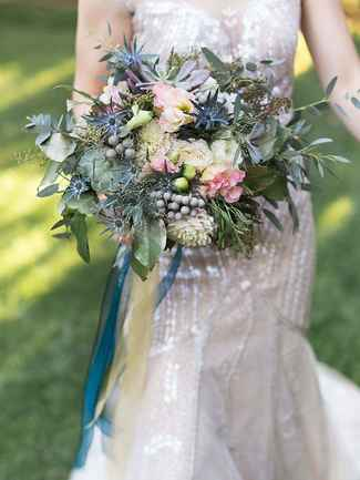 small wedding bouquets photo - 1