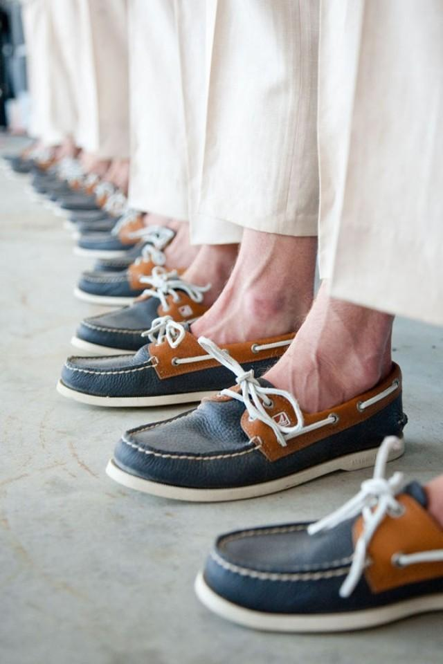 sperry wedding shoes photo - 1
