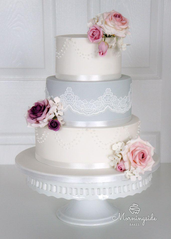 sugar flowers for wedding cakes photo - 1