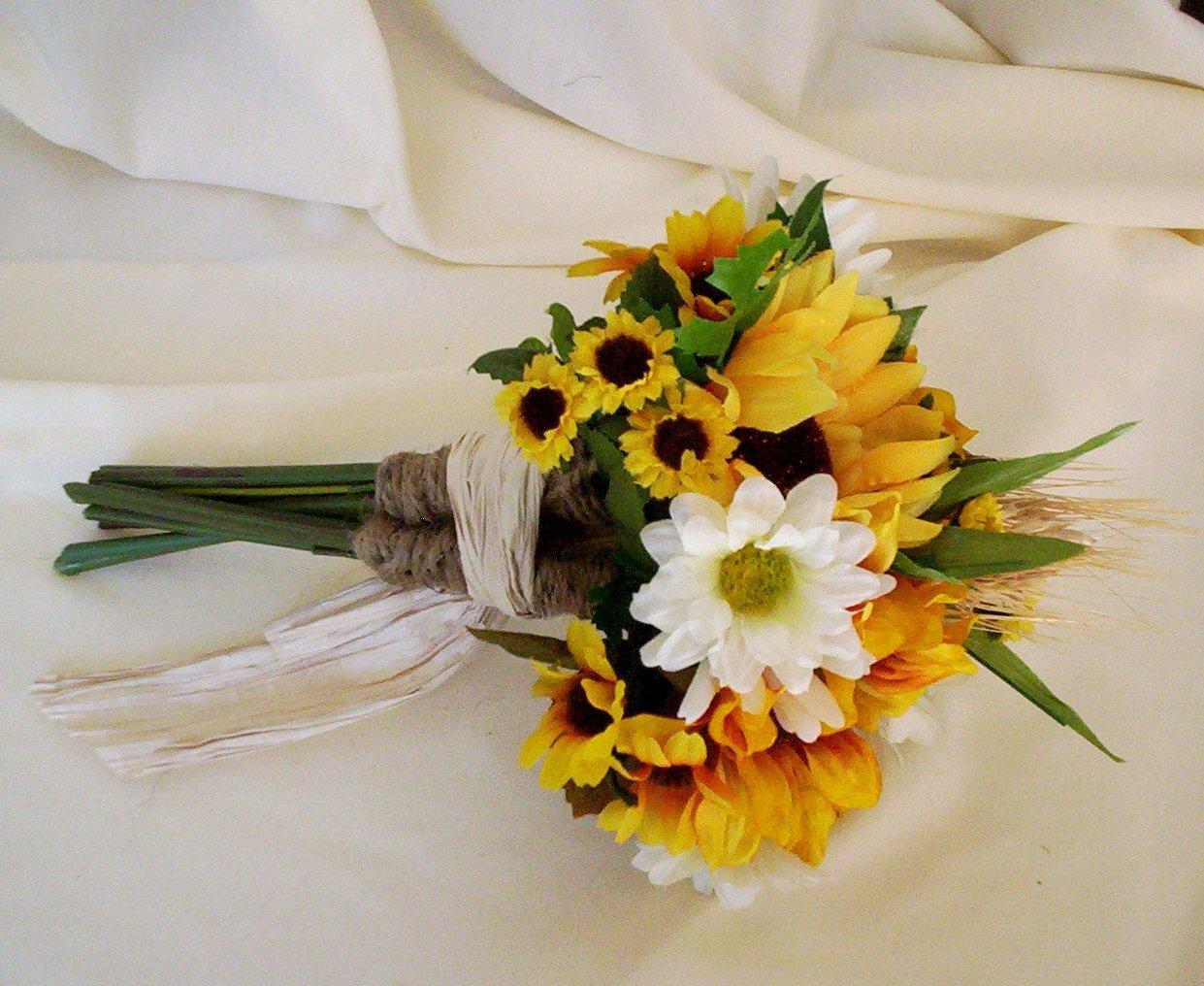 sunflower bridal bouquets photo - 1