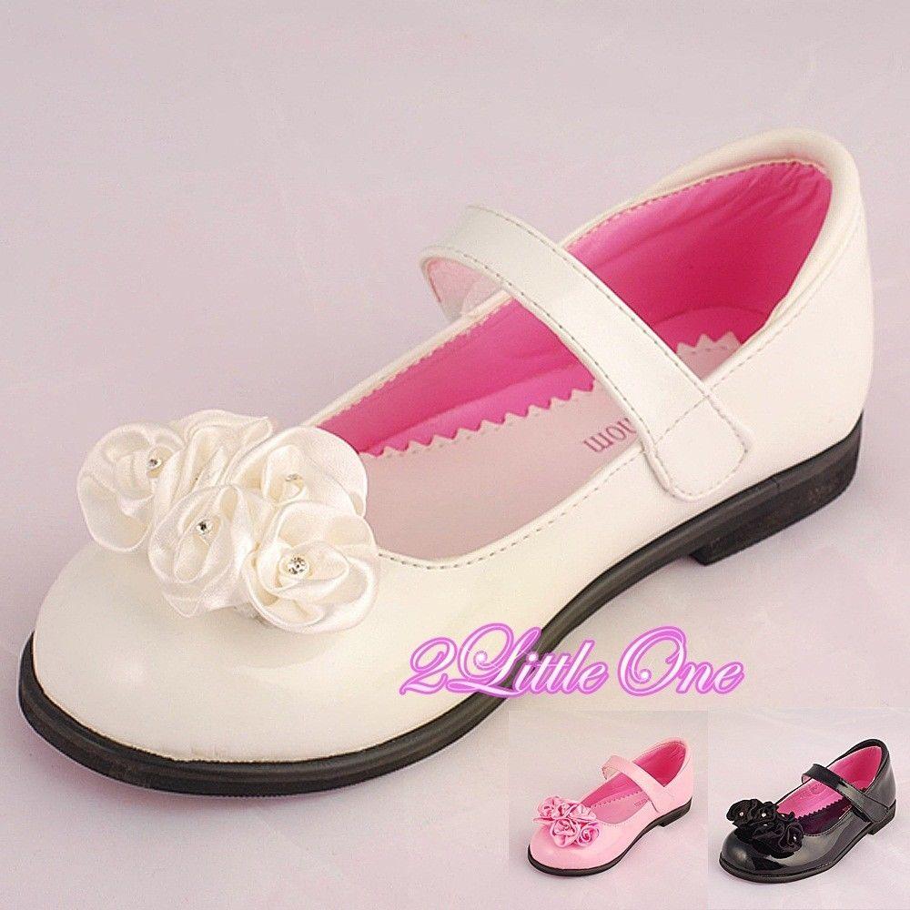 toddler girl wedding shoes photo - 1