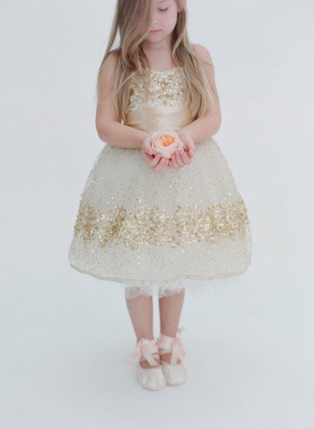 toddler white shoes wedding photo - 1