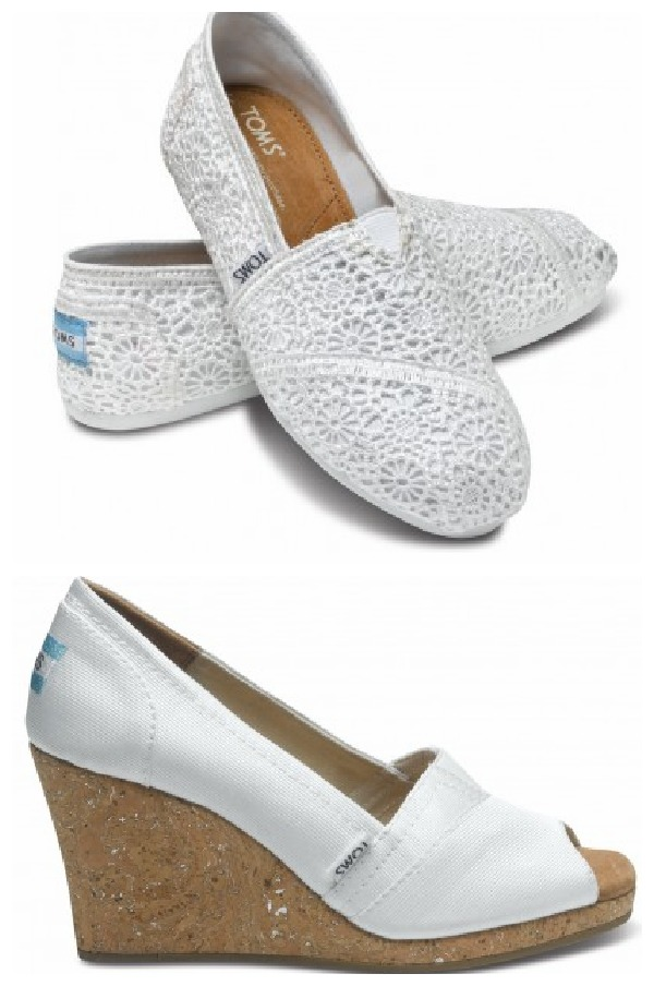 toms bridal shoes photo - 1