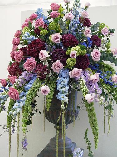 used wedding flowers photo - 1