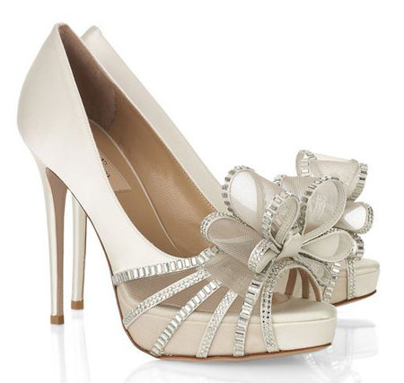 valentino bridal shoes photo - 1
