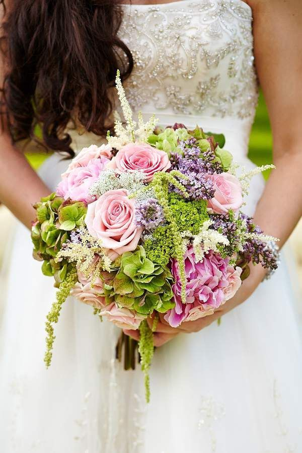 victorian wedding bouquets photo - 1