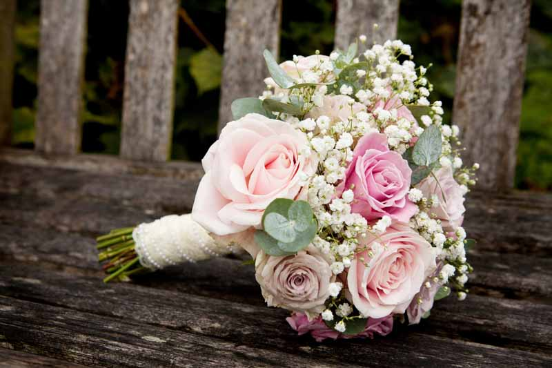 vintage style wedding bouquets photo - 1
