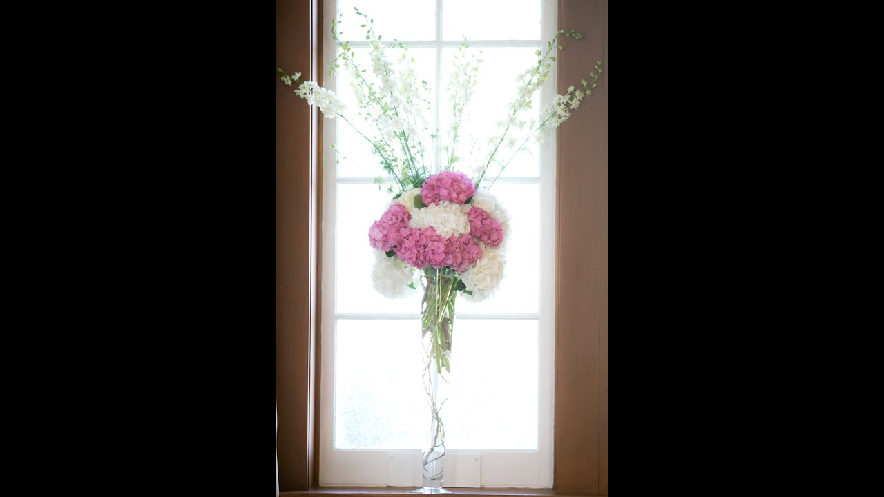 wedding altar flowers arrangements photo - 1