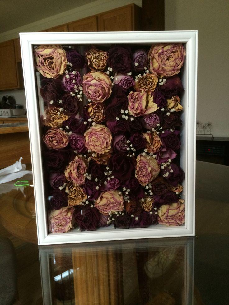 wedding bouquet display case photo - 1