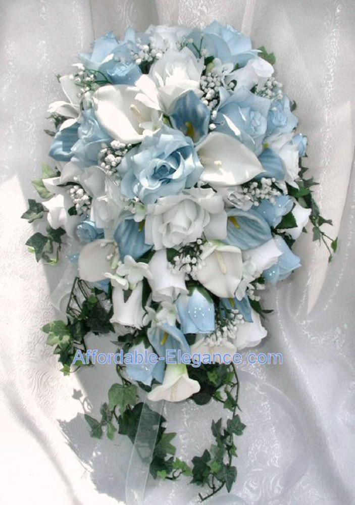 wedding bouquets artificial photo - 1