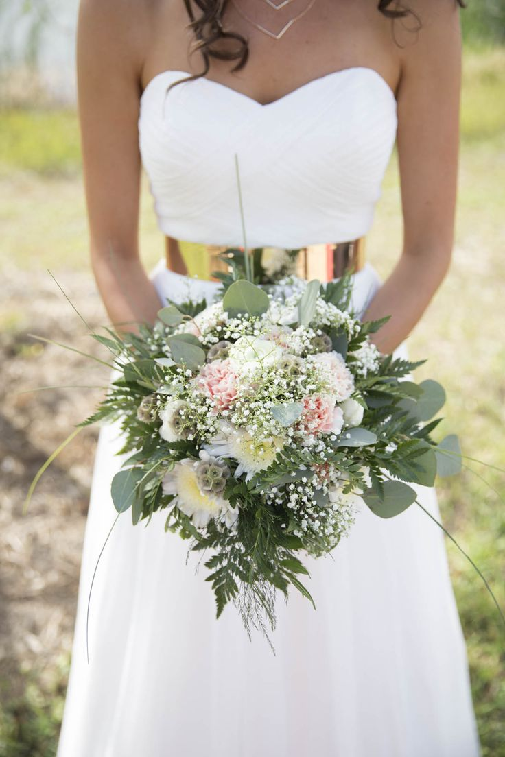 wedding bouquets carnations photo - 1