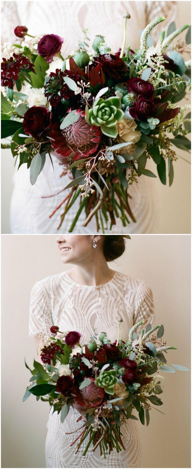 wedding bouquets colors photo - 1