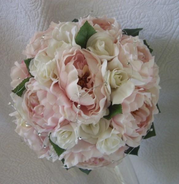 wedding bouquets peonies photo - 1
