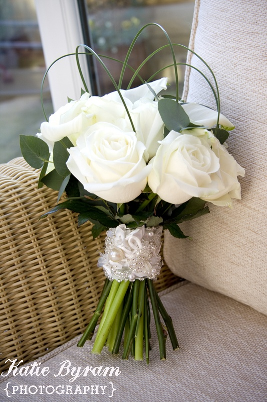wedding bouquets white photo - 1